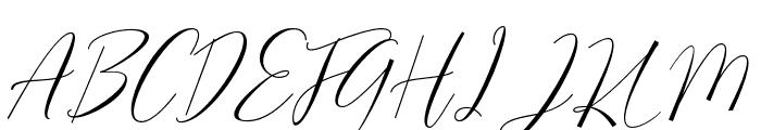 SeattleScript Font UPPERCASE
