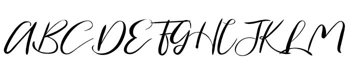 Secret Feeling Font UPPERCASE
