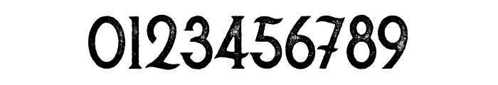 Secret Society Aged Font OTHER CHARS