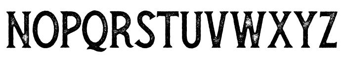 Secret Society Aged Font UPPERCASE
