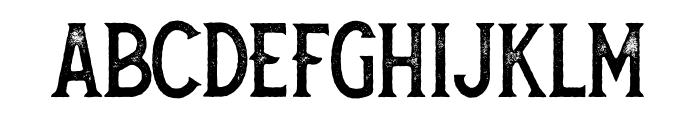 Secret Society Aged Font LOWERCASE