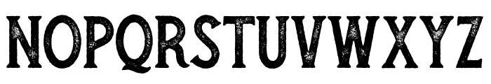 Secret Society Bold - Aged Font UPPERCASE