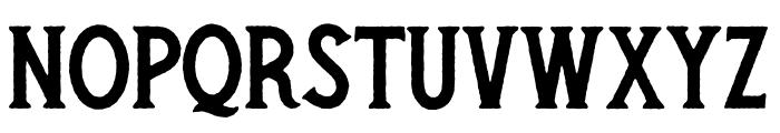 Secret Society Bold Font UPPERCASE