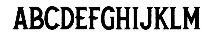 Secret Society Bold Font LOWERCASE