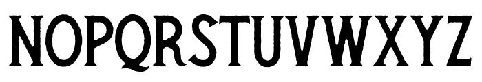 Secret Society Regular Font UPPERCASE