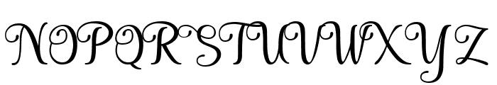 Seelyn Font UPPERCASE