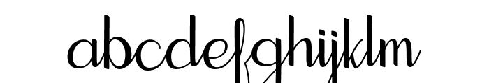 Seelyn Font LOWERCASE