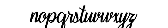 Seindah Cinttya Font LOWERCASE