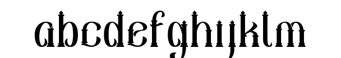 Sekatoan-Clean Font LOWERCASE