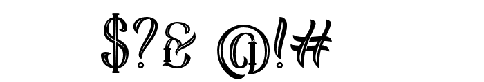 Sekatoan-Inline Font OTHER CHARS