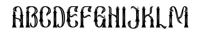 Sekatoan-Inline Font UPPERCASE