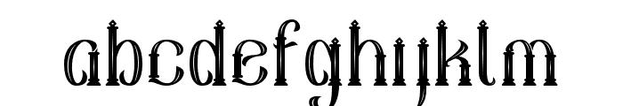 Sekatoan-Inline Font LOWERCASE