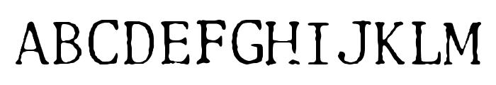 Selectric Adjutant Regular Font UPPERCASE