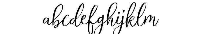 Selesia Heart Font LOWERCASE