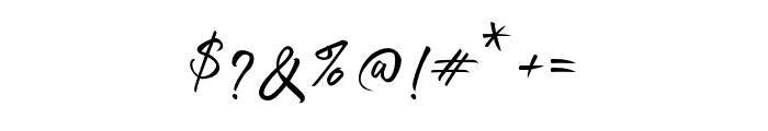 SellotiaSignature Font OTHER CHARS