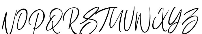 SellotiaSignature Font UPPERCASE