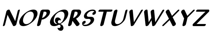 Sellyn Italic Font UPPERCASE