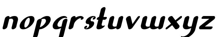 Sellyn Italic Font LOWERCASE