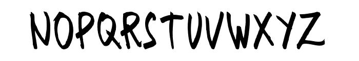 SencilloHanddrawn Font UPPERCASE