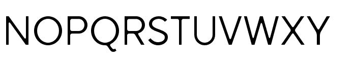 SenticDisplay-Regular Font UPPERCASE