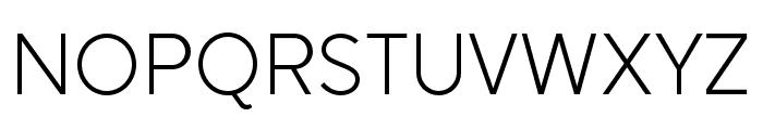 SenticText-Light Font UPPERCASE