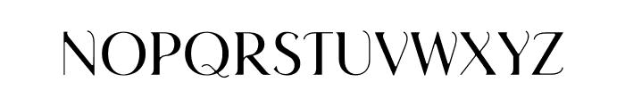 Septians Font UPPERCASE
