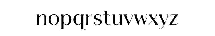 Septians Font LOWERCASE