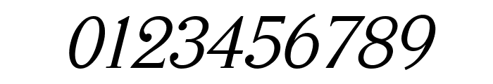 Serifah Italic Font OTHER CHARS