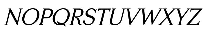 Serifah Italic Font UPPERCASE