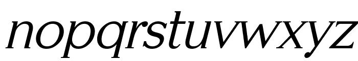 Serifah Italic Font LOWERCASE