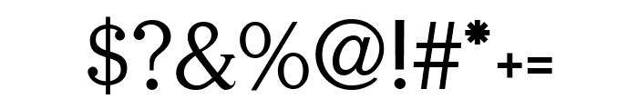 Serifah Font OTHER CHARS