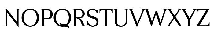 Serifah Font UPPERCASE