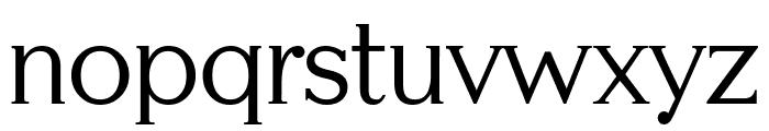 Serifah Font LOWERCASE