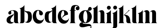 Serifain Font LOWERCASE