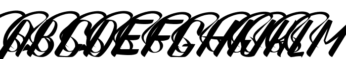 Sexy Shout Combination Font UPPERCASE