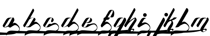 Sexy Shout Combination Font LOWERCASE