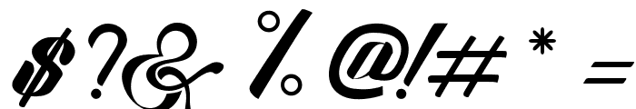 SexyShoutCombination Font OTHER CHARS