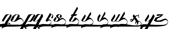 SexyShoutCombination Font LOWERCASE