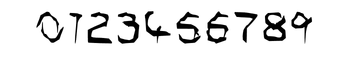 Shadow Horror Font OTHER CHARS