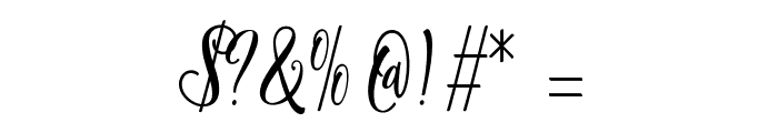 ShanghaiScriptAlt Font OTHER CHARS