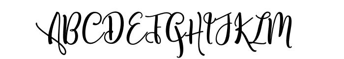 ShanghaiScriptAlt Font UPPERCASE