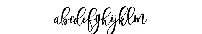 ShanghaiScript Font LOWERCASE