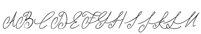 Shangrela Font UPPERCASE