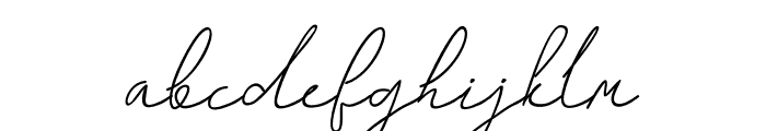 Shangrela Font LOWERCASE