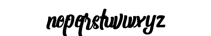 Shanthans-Bold Font LOWERCASE