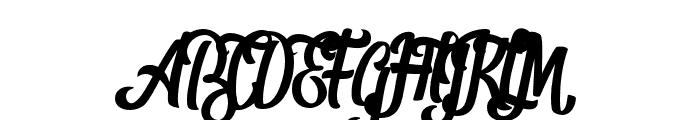 Shanthans Font UPPERCASE