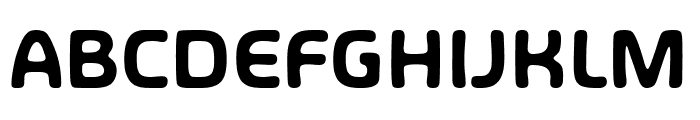Share Happiness Around Font UPPERCASE