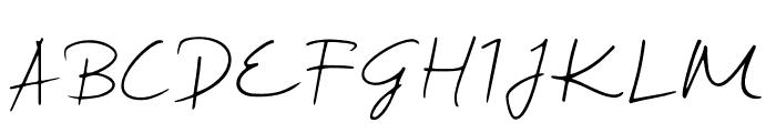 Sharifa Font UPPERCASE