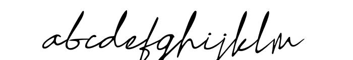 Sharifa Font LOWERCASE