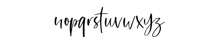 SharonBaker-Alt Font LOWERCASE